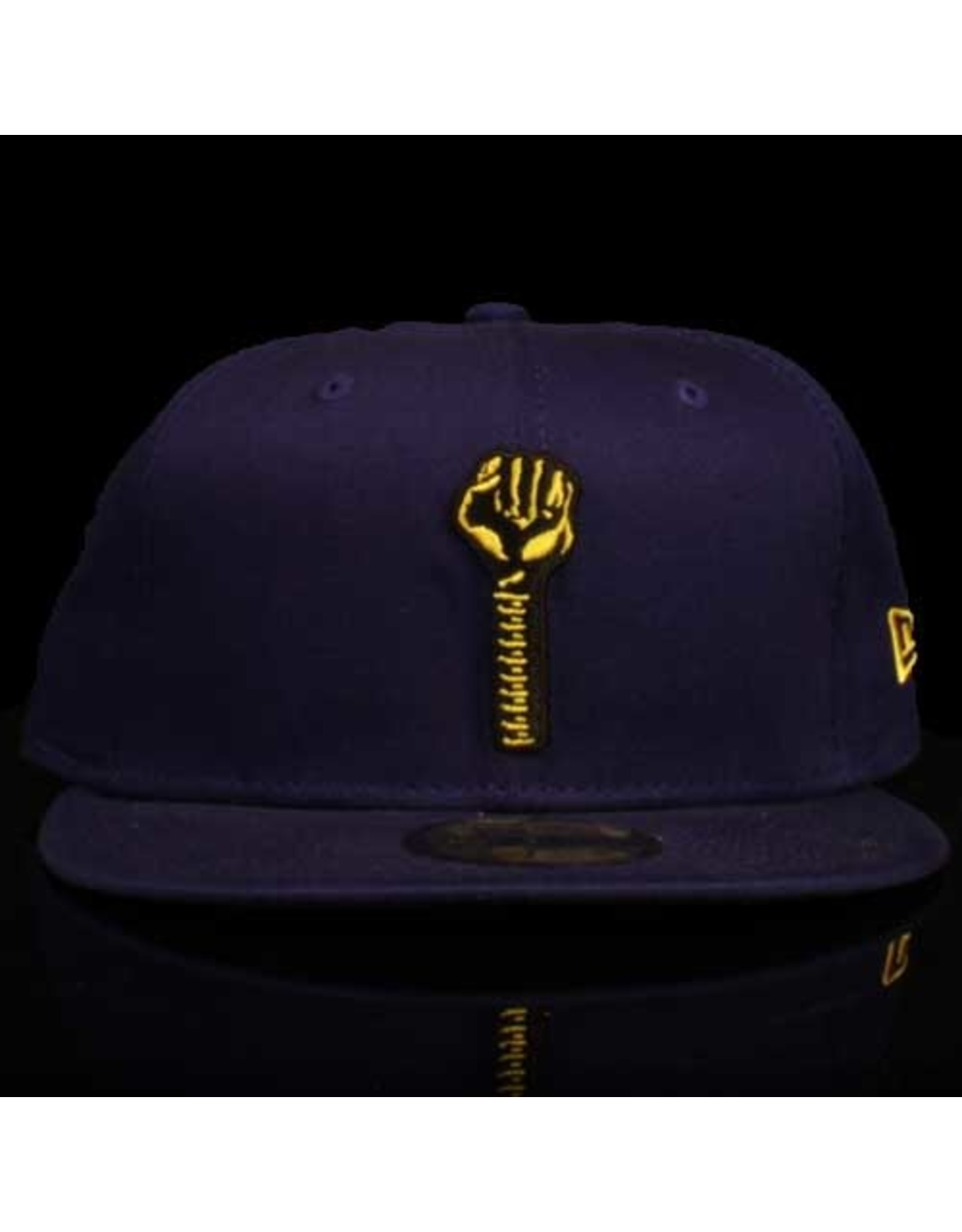 New Era x Hardies Navy Black Bolt Fitted