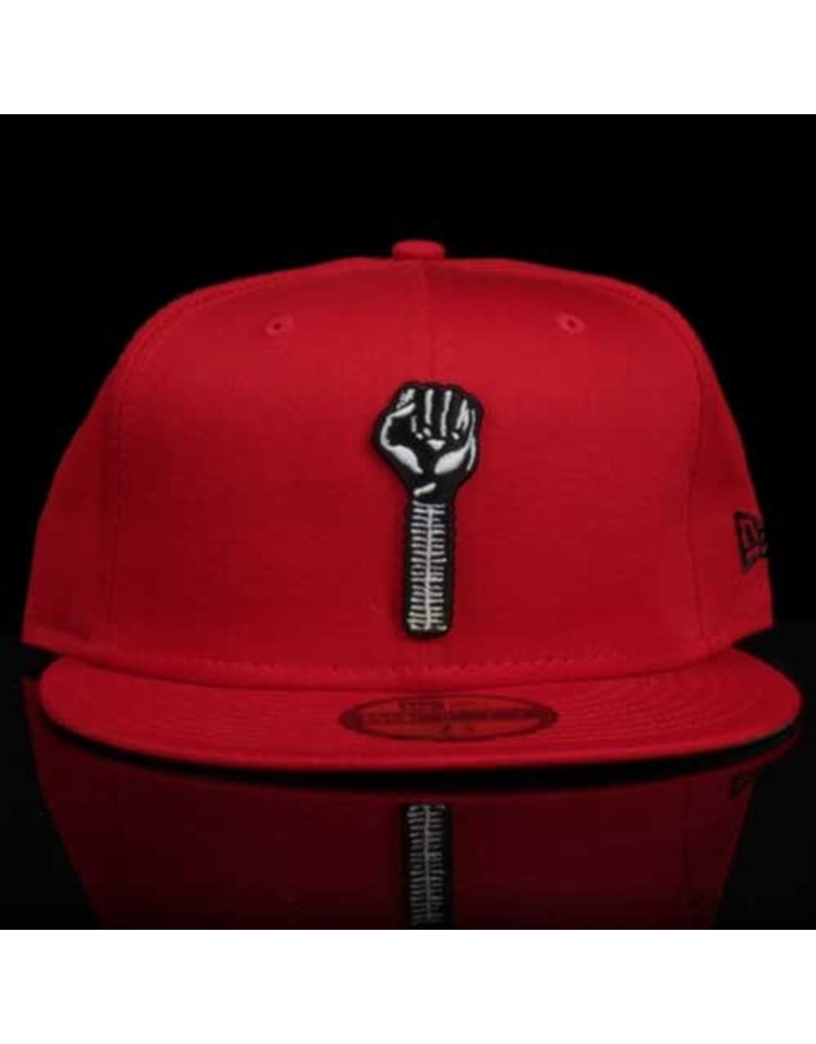 New Era x Hardies Red Black Bolt Fitted
