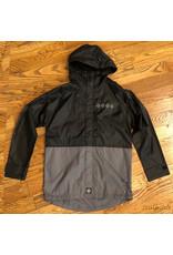 Indy Jacket Breaker Black Grey Split