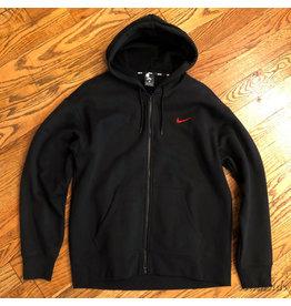 Nike Nike SB Hoodie Zip Up Black Red