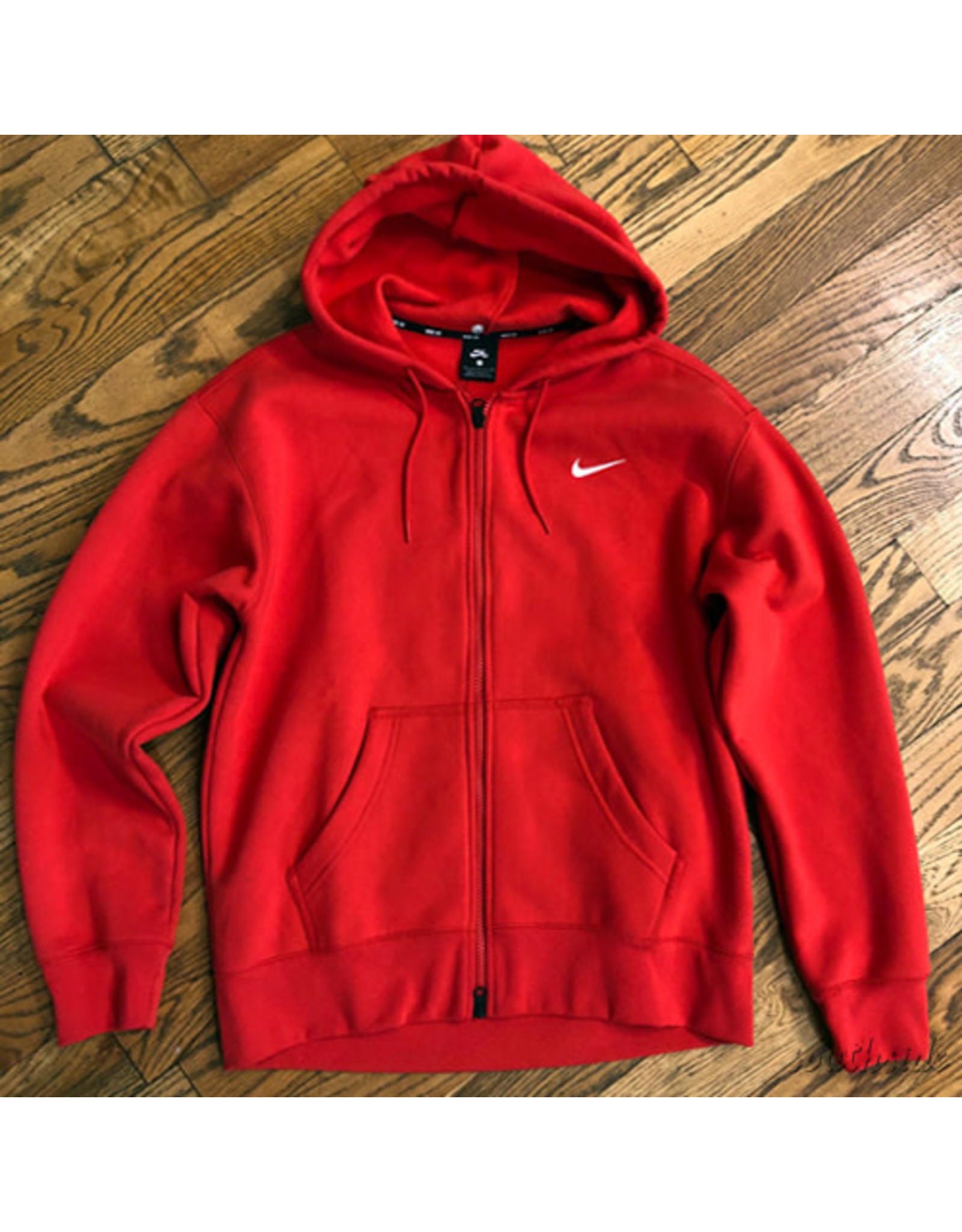 Nike Nike SB Hoodie Zip Up Red Black