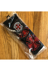 Indy Socks Size 9-11 Crosses Red