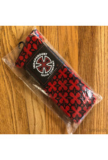 Indy Socks Size 9-11 Repeat Crosses Red