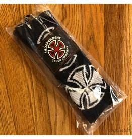 Indy Socks Size 9-11 Crosses Navy