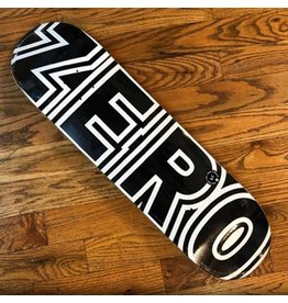 Zero Deck Bold Black White 8.5