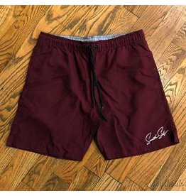 Southside Southside Shorts Burgundy