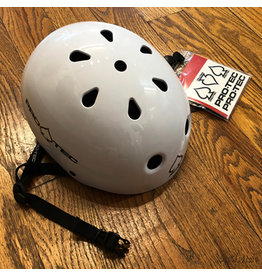 Protec Helmet Classic Gloss White