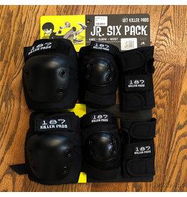 187 Junior Pad Set Black