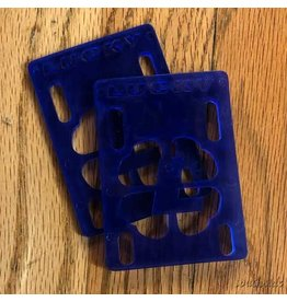 Lucky 1/8th Inch Riser Pad Blue - Pair
