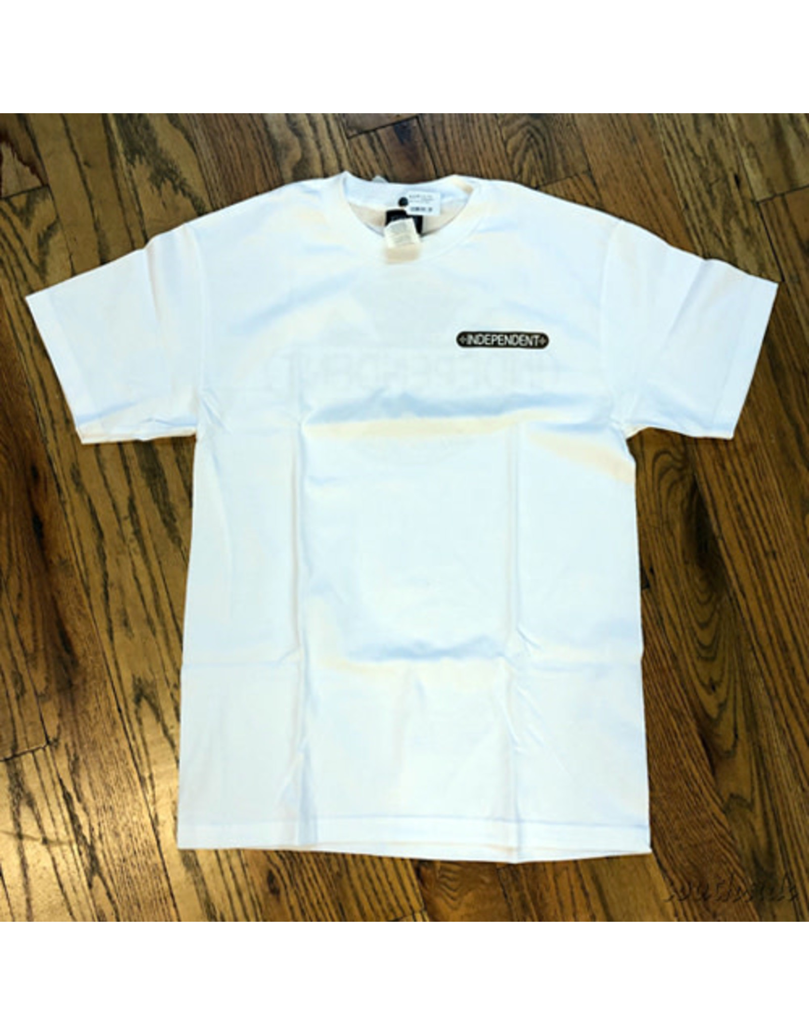 Indy Tee Baseplate Gold White