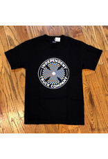 Indy Tee Pinwheel Cross Black