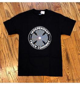 Indy Tee Pinwheel Cross Black