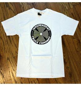 Indy Tee Pinwheel Cross White