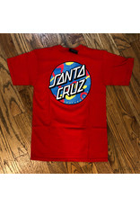 Santa Cruz Tee Primary Dot Red