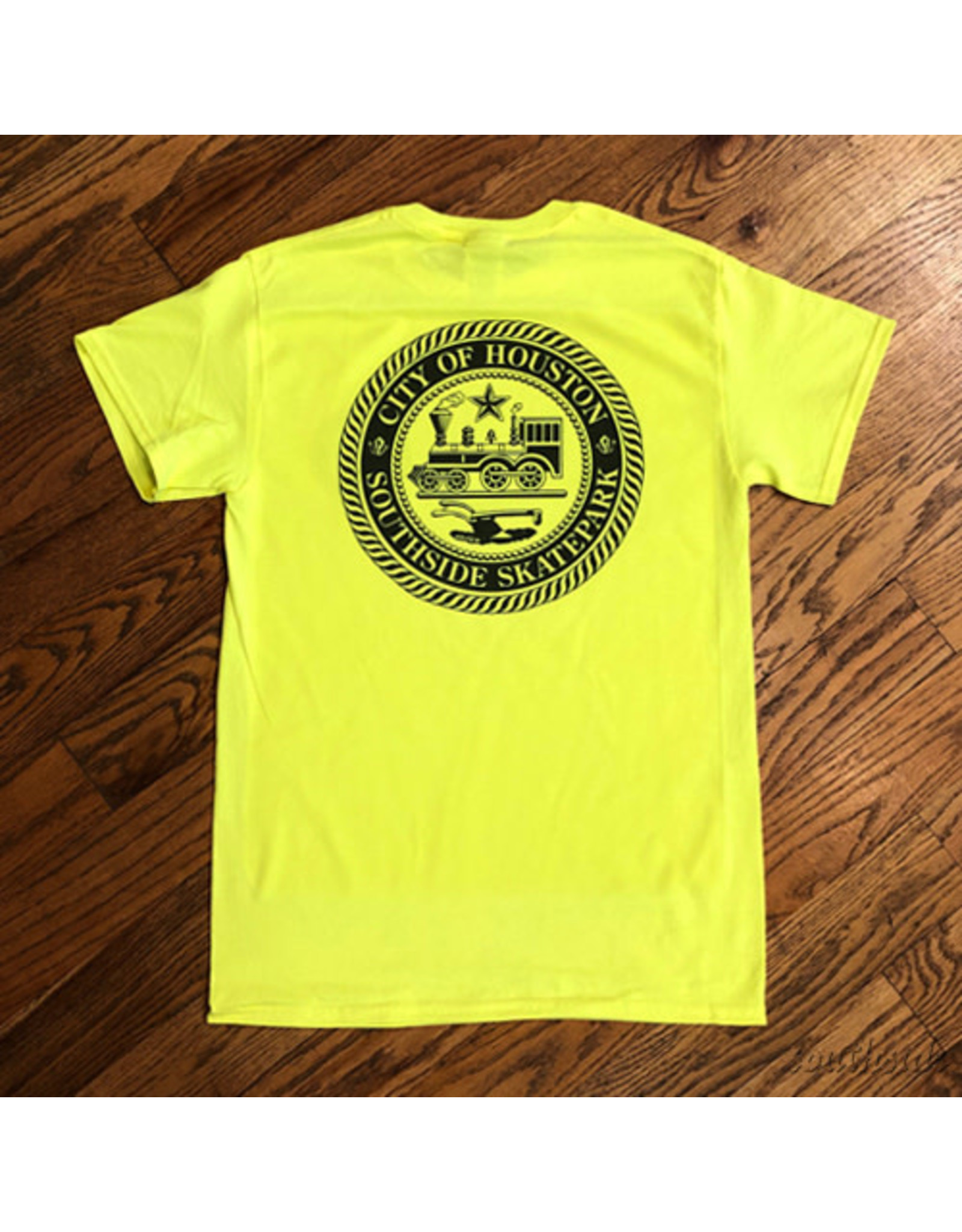 Southside Southside COH Tee High Viz Yellow