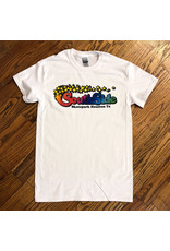 Southside Southside Tee AW Rainbow White