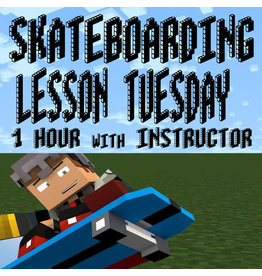 Southside 1 Hour Tuesday Skateboarding Lesson with Instructor