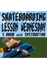 Southside 1 Hour Wednesday Skateboarding Lesson with Instructor