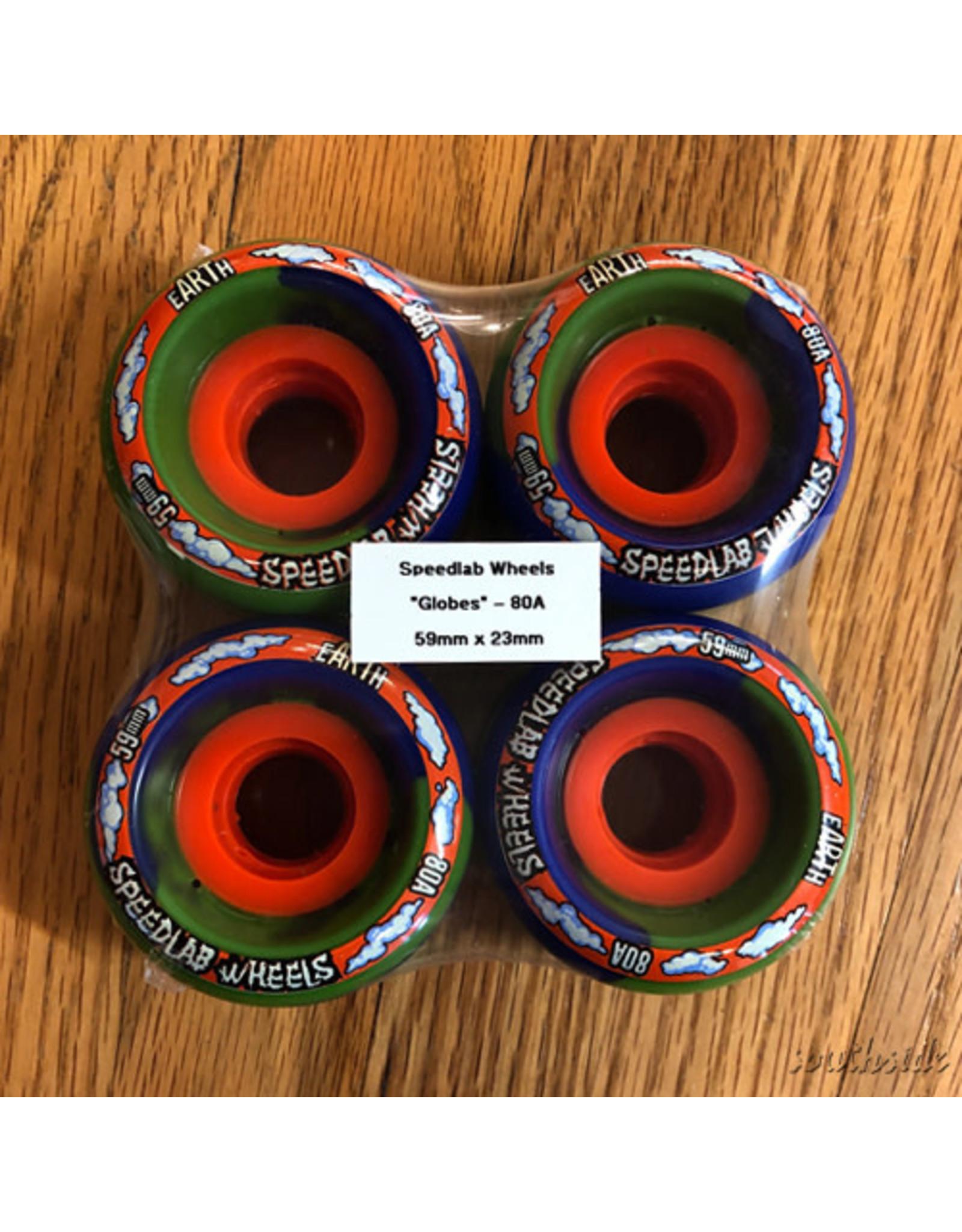 Speedlab Globe Blue Green 59mm80A