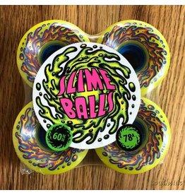 Slime Balls Slime Balls OG Neon Yellow 60mm78A