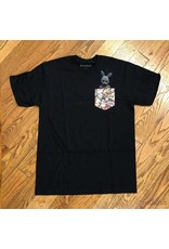 Business & Company Tee Bunny Pocket Black