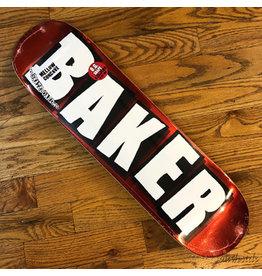 Baker Deck Brand Logo Red Foil 8.25x31.6