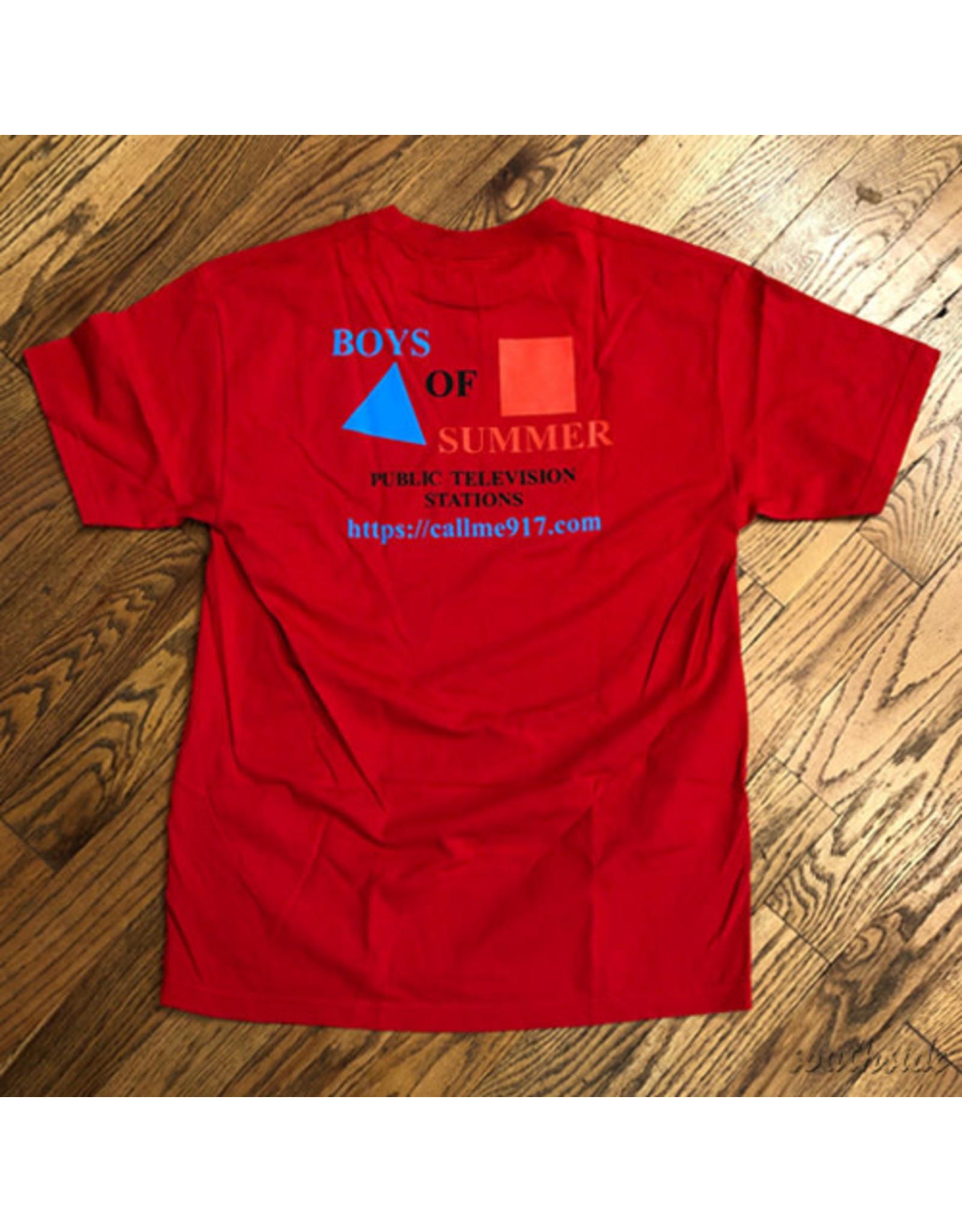 Boys of Summer Boys of Summer Tee CPB Red