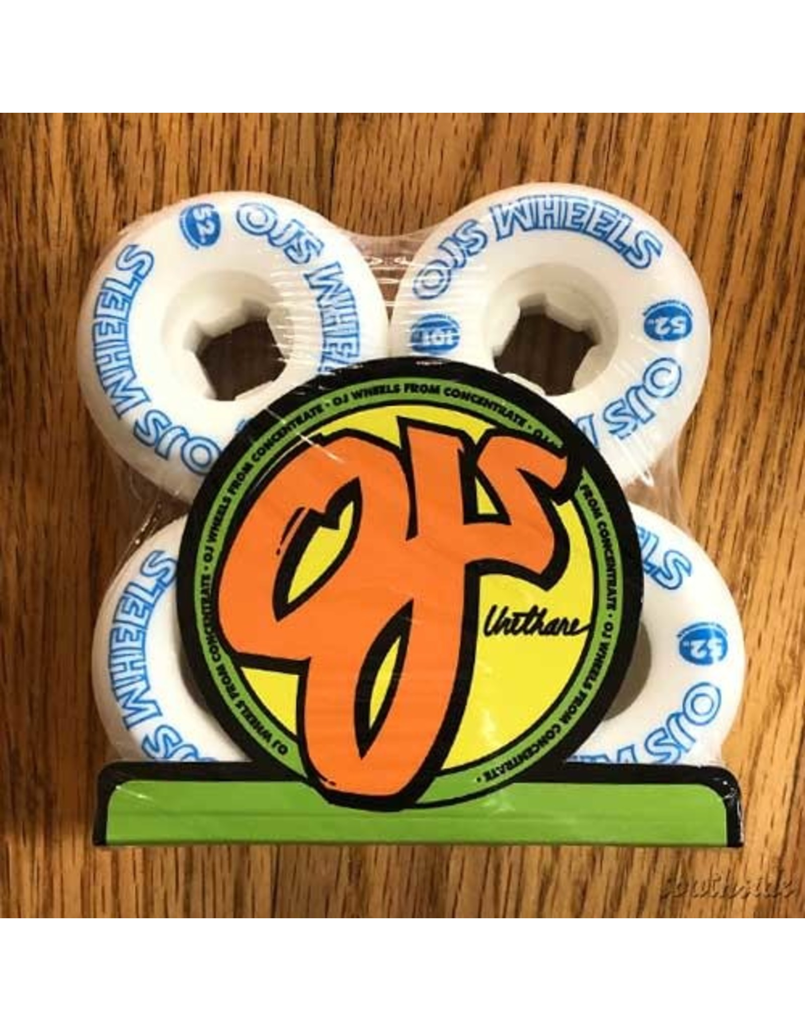 OJ Wheels from Concentrate Hardline 52mm101A