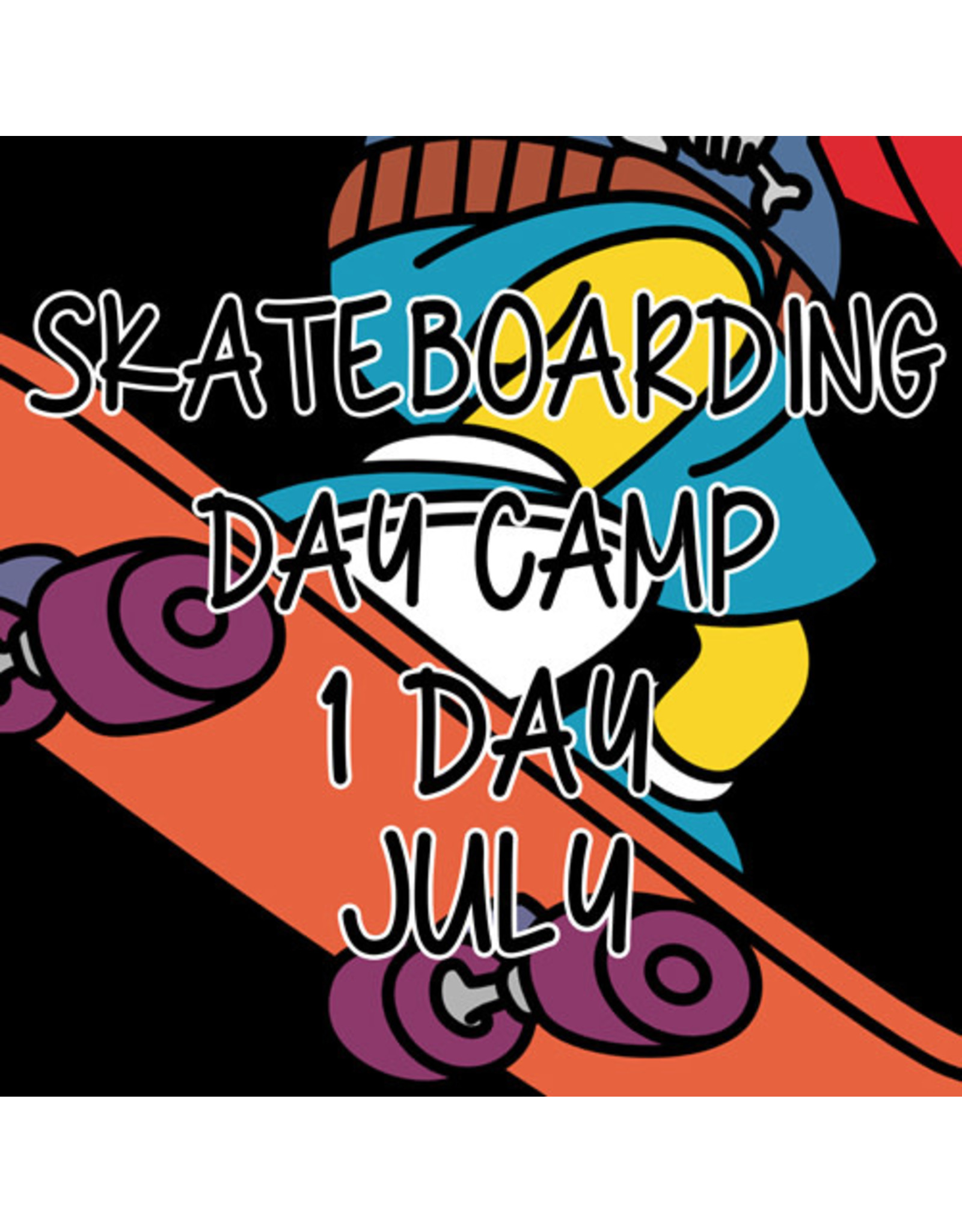 Southside 1 Day Summer Skateboarding Day Camp July