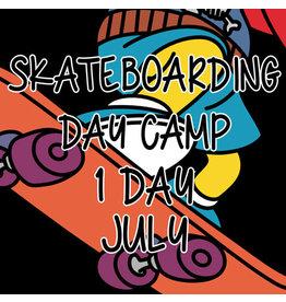 Southside 1 Day Summer Skateboarding Day Camp July