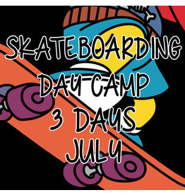 Southside 3 Days Summer Skateboarding Day Camp July