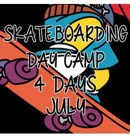 Southside 4 Days Summer Skateboarding Day Camp July