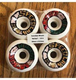 Speedlab Wheels McRad Weakness White 60mm101A