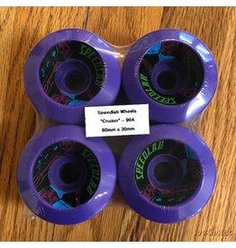 Speedlab Wheels Cruisers Purple 60mm90A