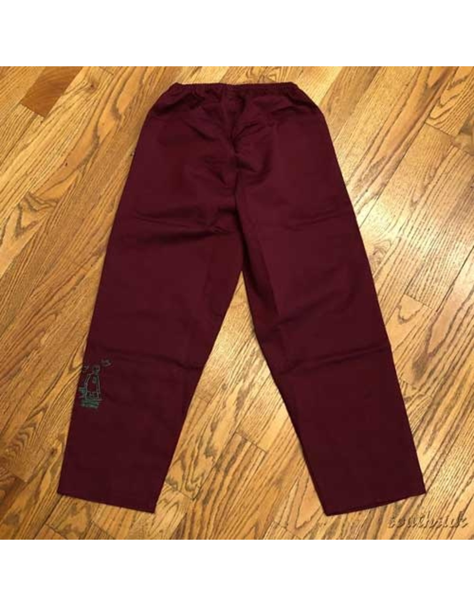 Southside Southside Gonz 94 Pant Burg Emerald Embroidered