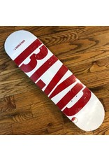 BLVD BLVD Deck Logo 8.25 Red White