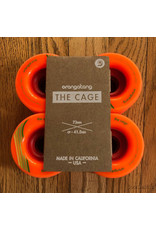 Orangatang Wheels The Cage Orange 73mm80A
