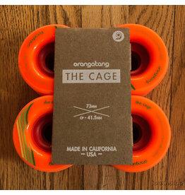 Orangatang Wheels The Cage Orange 73mm80A