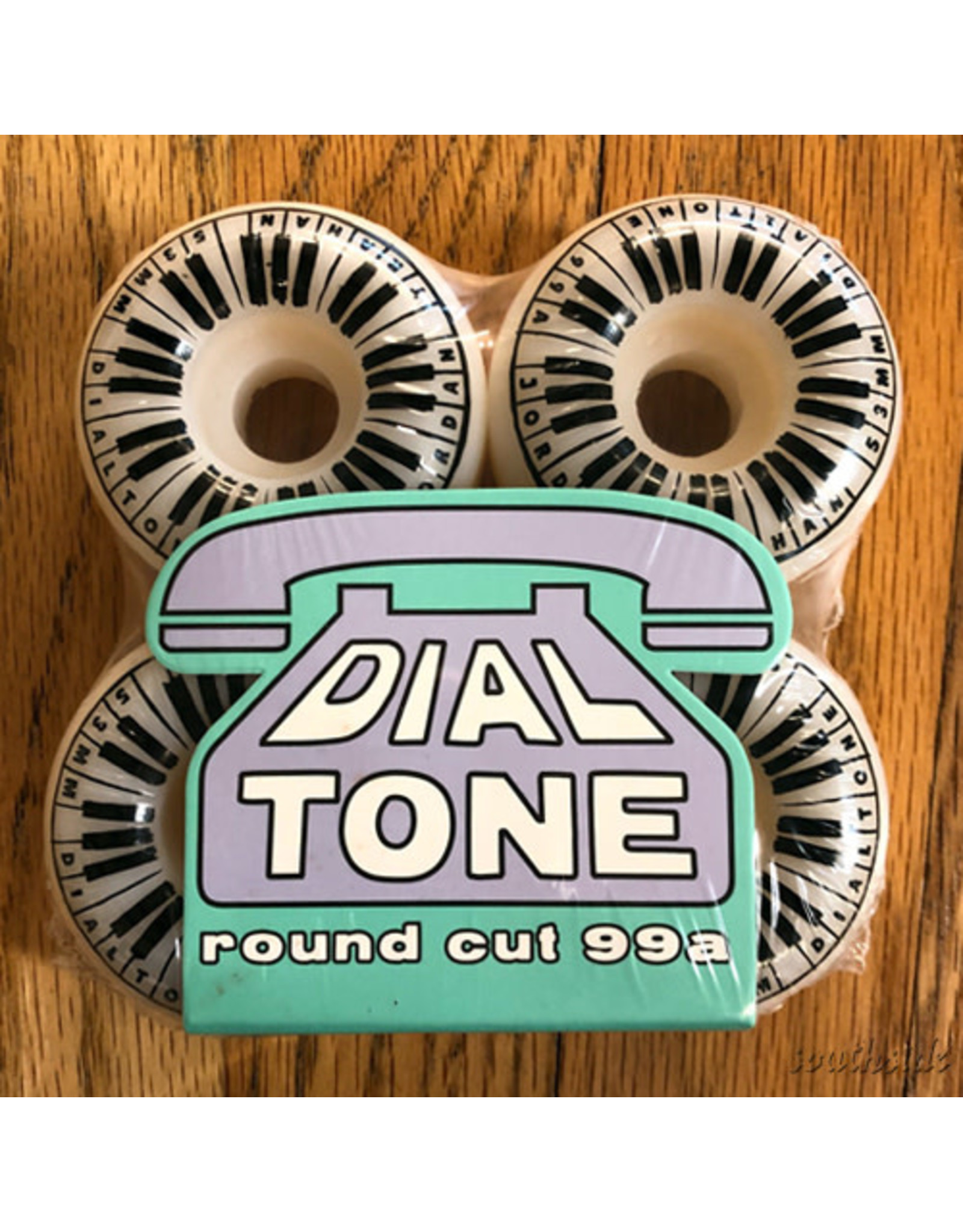 Dial Tone Wheels Piano Man Radial Full 53mm99A