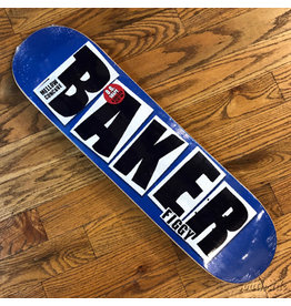 Baker Deck Brand Name Blue 8.12x31.6