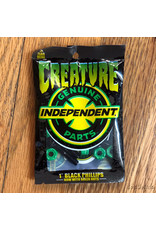 Creature x Indy Hardware 1 inch Phillips