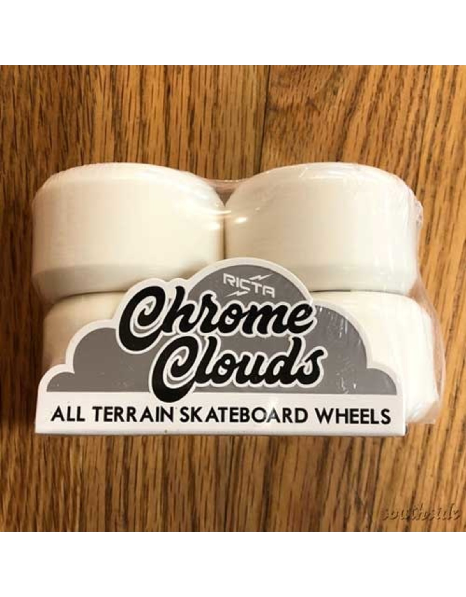 Ricta Chrome Clouds 54mm92A All Terrain Black White