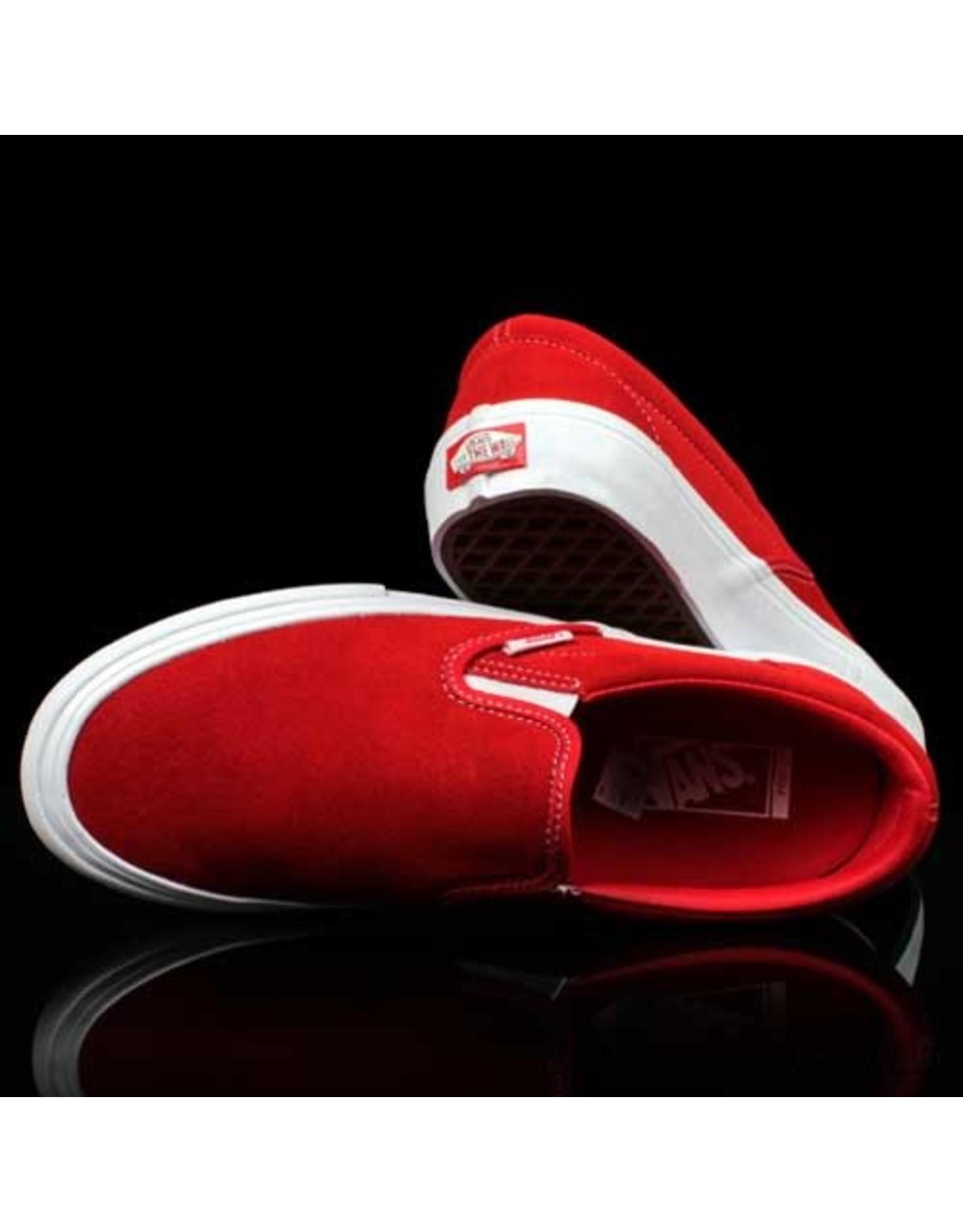 VANS Vans Slip On Pro Red White