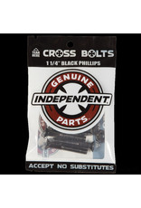 Indy Hardware 1 1/4 Inch Black Phillips