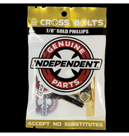 Indy Hardware 7/8ths Gold Phillips