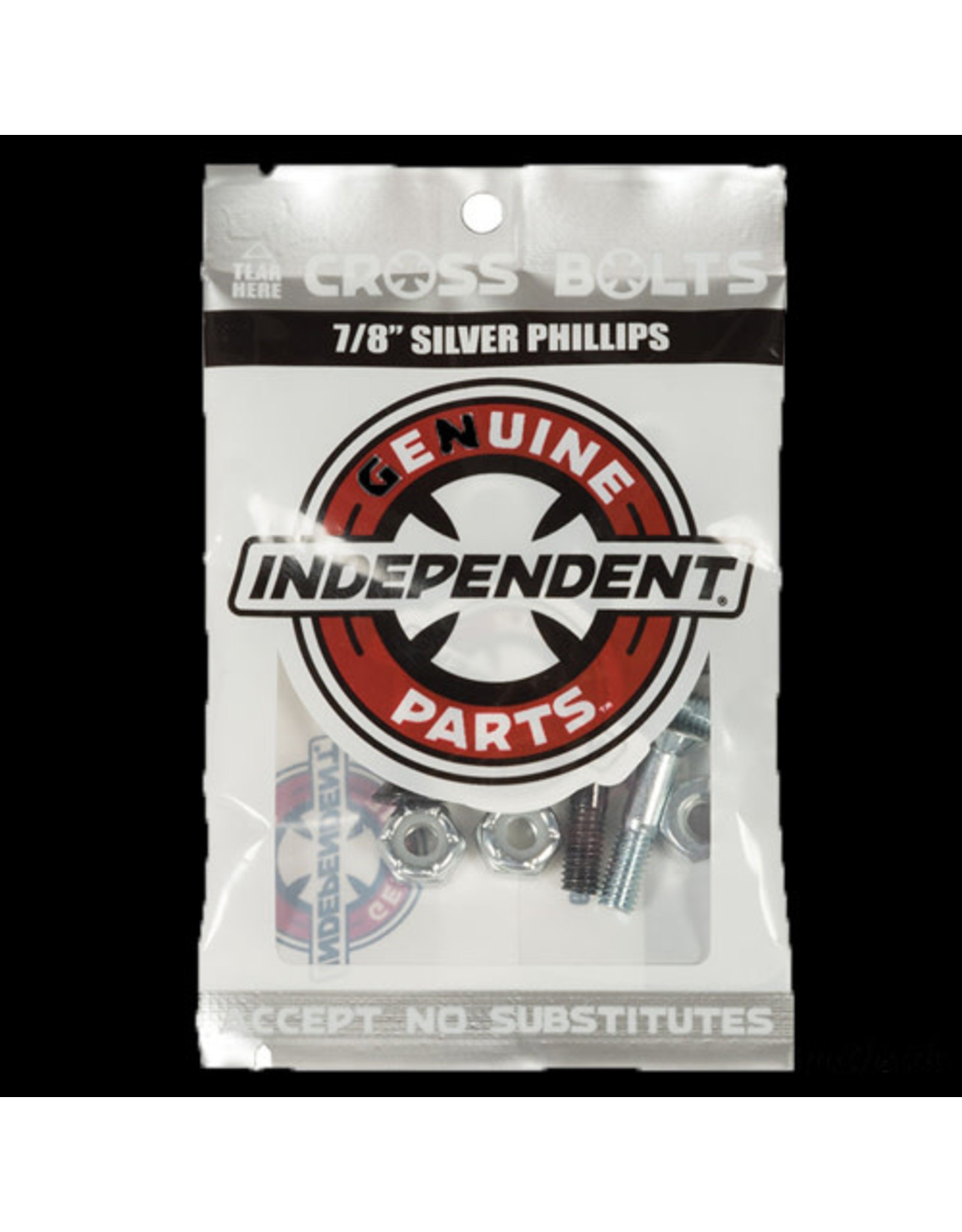 Indy Hardware 7/8ths Silver Phillips