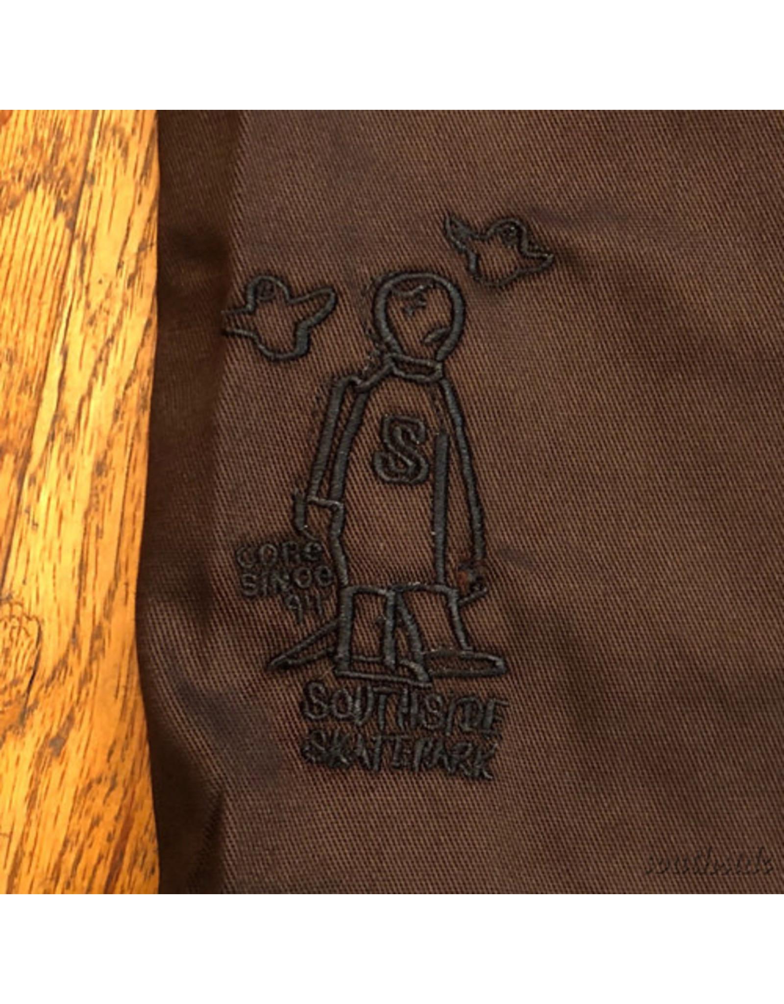 Southside Southside Gonz 94 Short Brown Black Embroidered