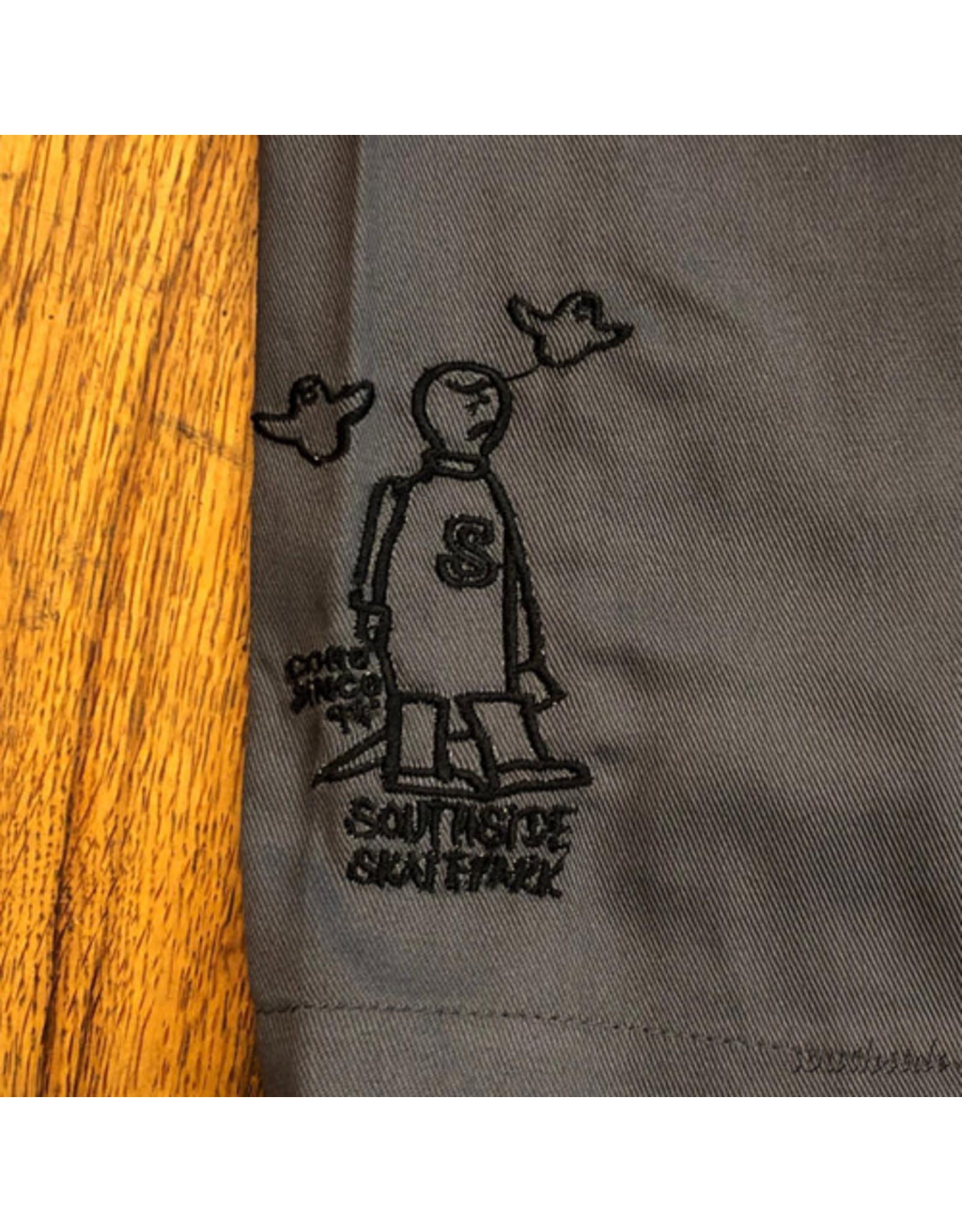 Southside Southside Gonz 94 Short Charcoal Black Embroid