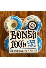 Bones 100s V4 Original Formula White 53mm