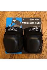 187 Pro Derby Knee Pads Black